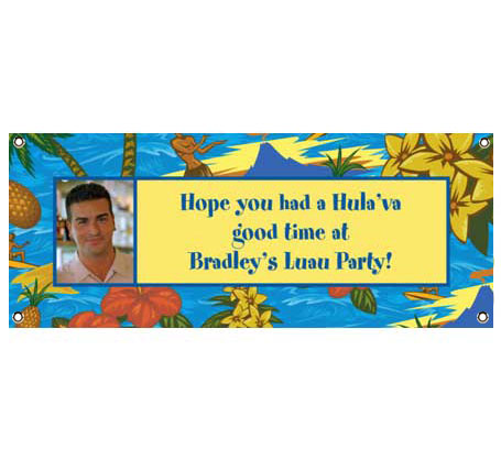 Hawaiian Shirt Theme Banner