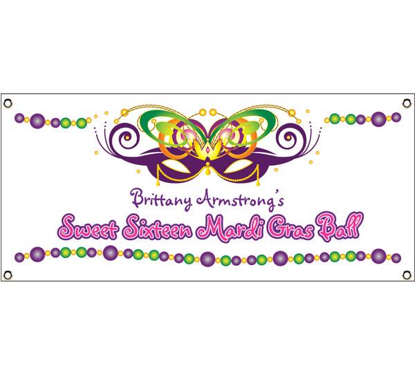 2015 Mardi Gras Ball Theme Banner