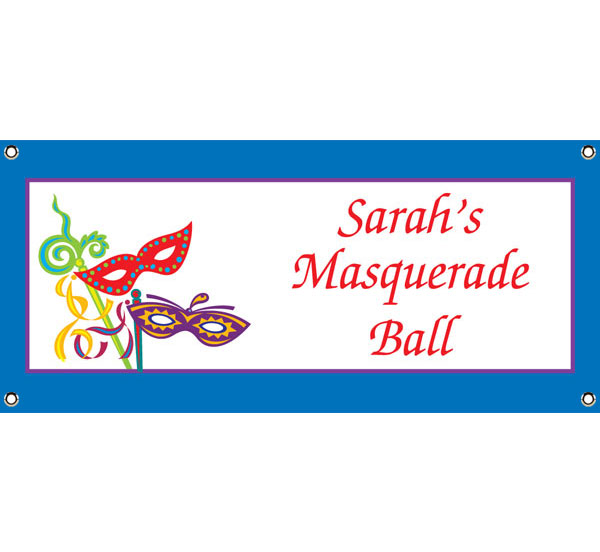 Mardi Gras Madness Theme Banner