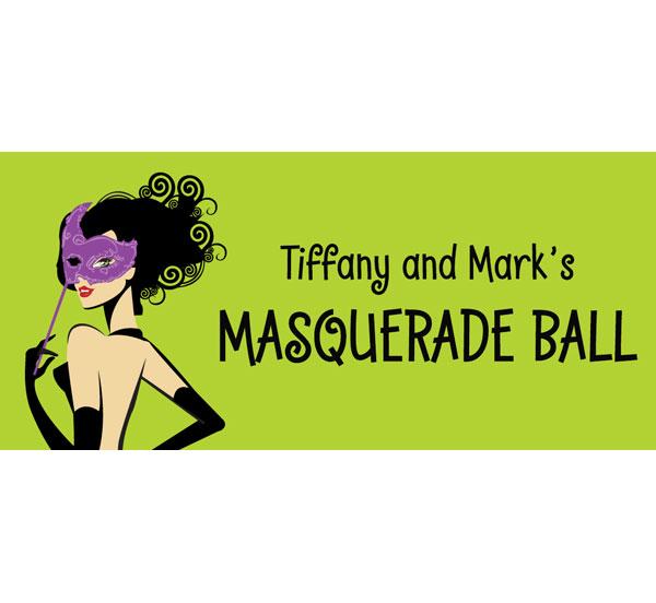 Halloween Masquerade Ball Banner
