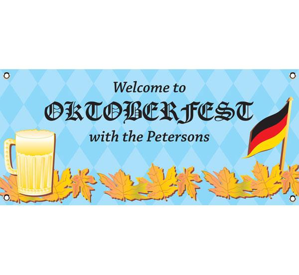 Oktoberfest Party Theme Banner