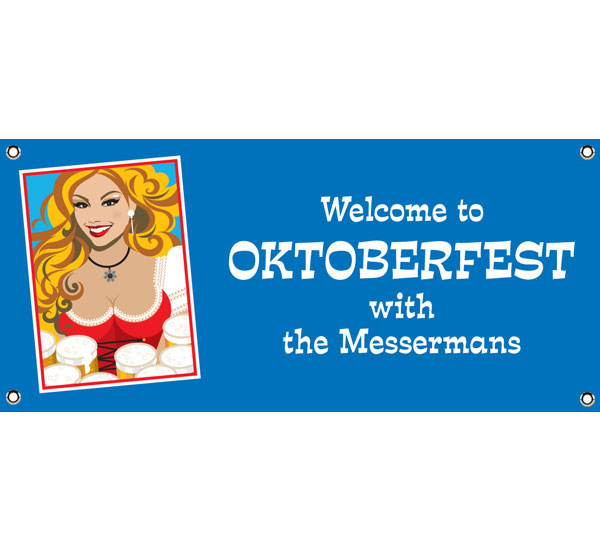Oktoberfest Brew Theme Banner