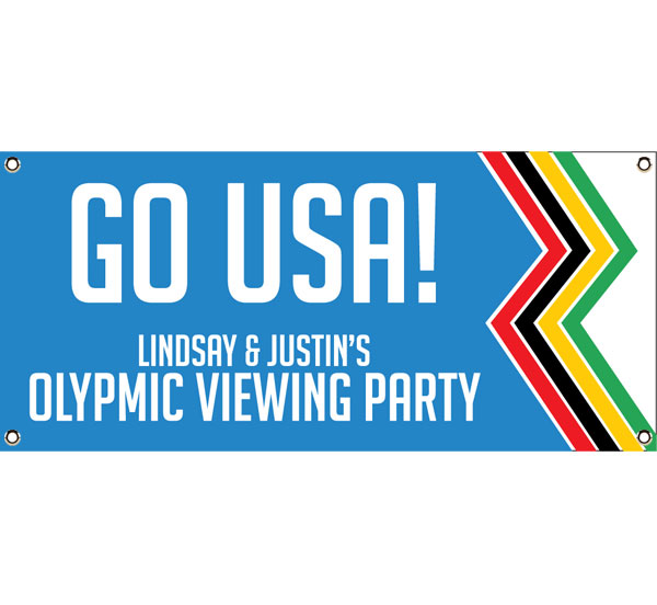 Winter Olympics Theme Banner