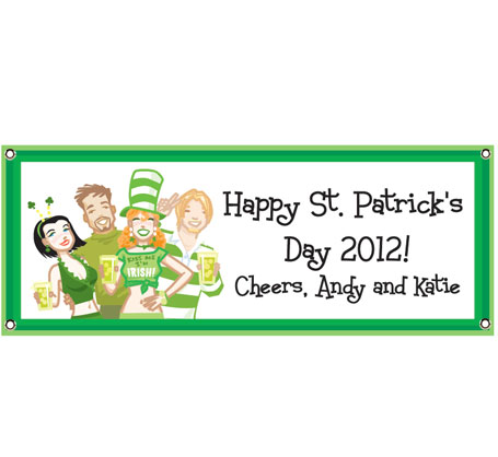 St. Patrick's Day Pub Theme Banner
