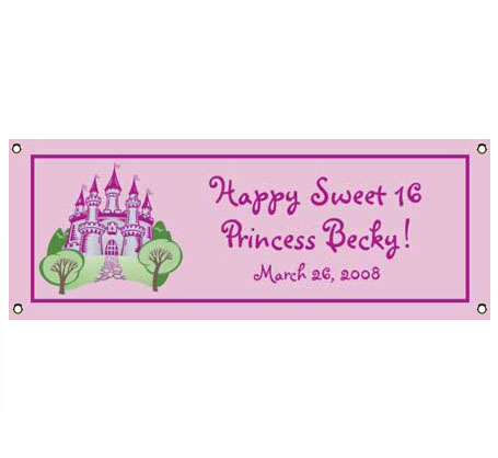 Fairy Tale Princess Theme Banner / Let the world know you're a princess with this enchanted banner!