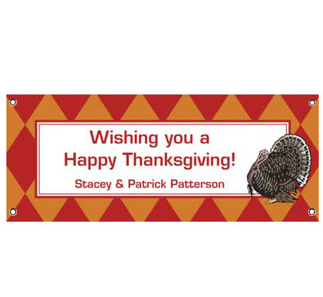 Thanksgiving Celebration Theme Banner / Happy Thanksgiving and Happy Fall with this festive fall banner!