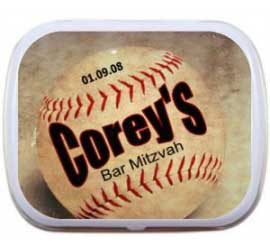 Baseball Mint Tin