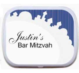 Bar Mitzvah Jerusalem Mint Tin