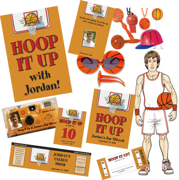 Basketball Theme Party Package / Basketball Slam Dunk!
