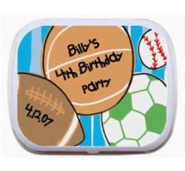 Sports Birthday Mint Tin