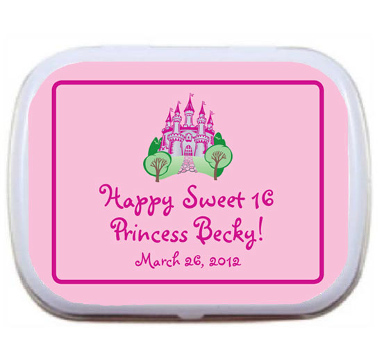 Fairy Tale Princess Theme Mint Tin / A small princess theme favor