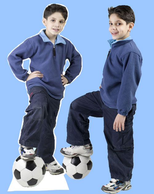 Lifesize Photo Cutout, Child / Your child is the star of the party!