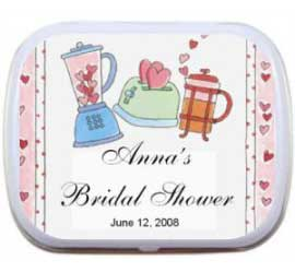 Mint Tin, Bridal Shower Kitchen Theme / A great kitchen theme mint tin for a bridal shower