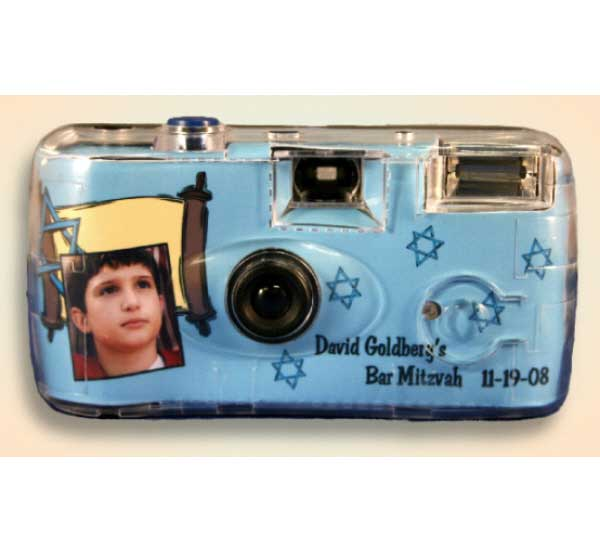 Bar Mitzvah Camera / Let your guests capture those special moments at the bar mitvah.