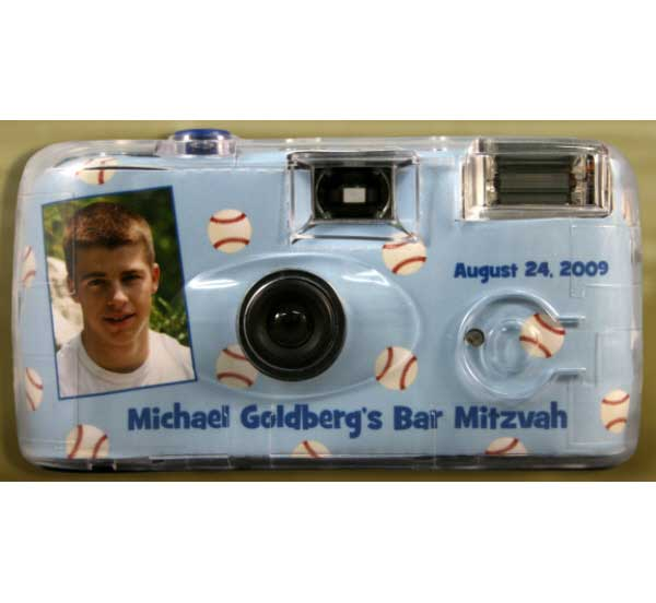Baseball All Star Theme Camera / Snap pictures of your guests at the plate!