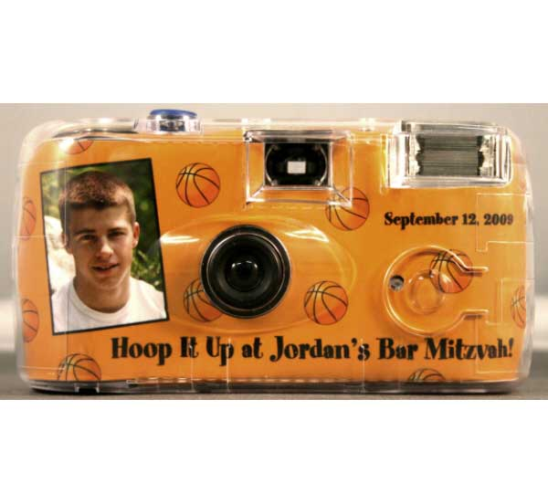 Basketball Hoops Theme Camera / Picture your guests having fun. It's a slam dunk!