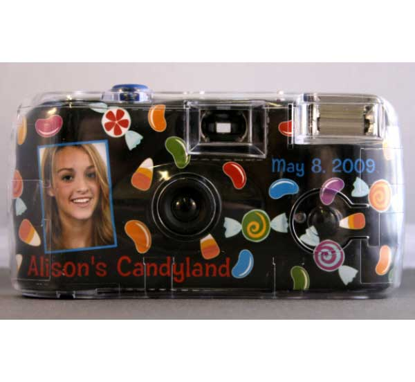 Candy Theme Camera / A personalized candy theme camera!