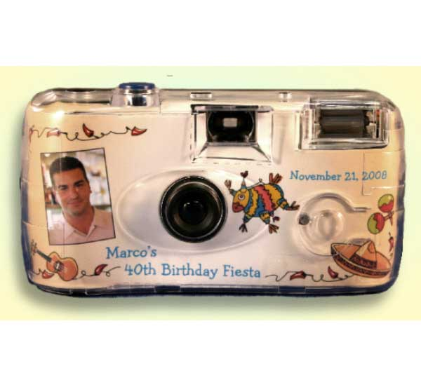 A Fiesta Theme Party Camera / Perfect for your fiesta!