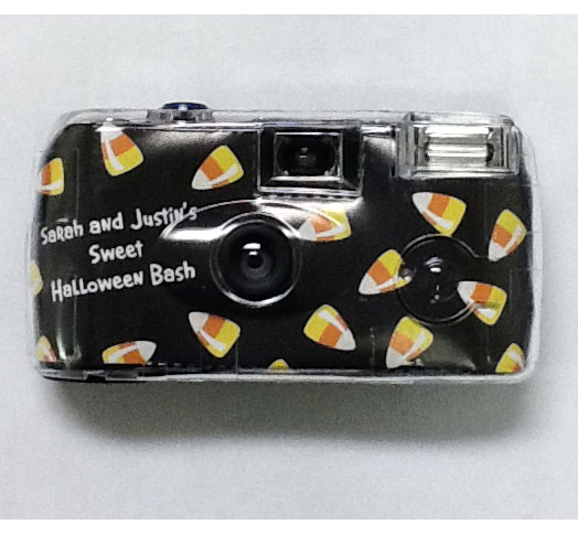 Halloween Sweet Candy Corn Theme Camera