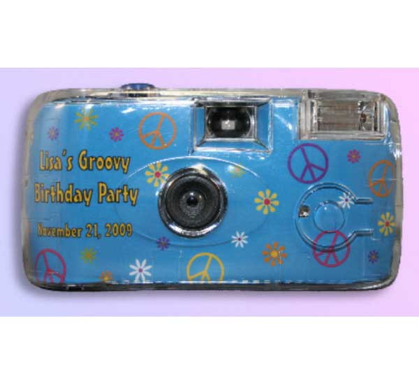 Hippie Retro Theme Camera / A groovy camera for your party