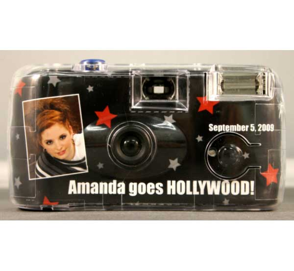 Hollywood Theme Camera / Capture all of the celebrities!