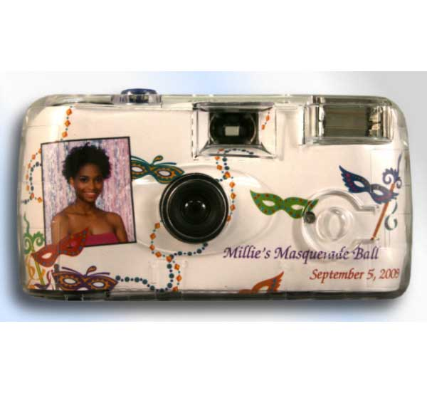 Mardi Gras Madness Theme Camera / Capture all of the Mardi Gras Celebration with this party favor