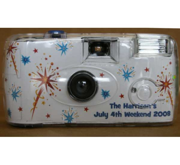Patriotic Theme Camera / Red, White and Blue Celebration