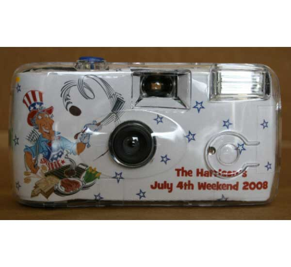 American Patriotic BBQ Theme Camera