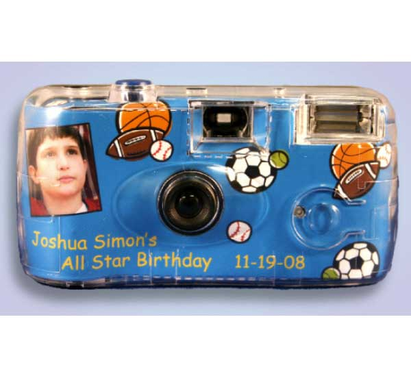 Sports Balls Theme Camera / Capture all the action shots!