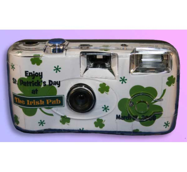 St. Patricks Day Irish Theme Camera / Capture all the memories this St. Patrick's Day with this personalized camera
