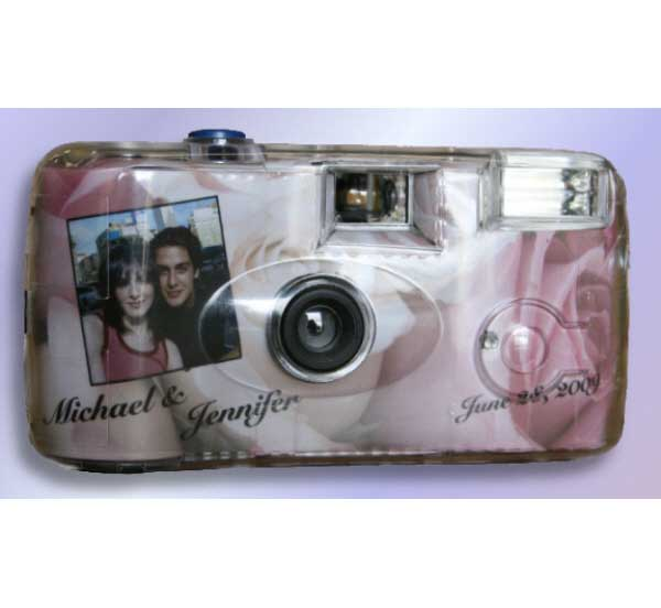 Roses Theme Camera / Capture all of the moments with this party favor