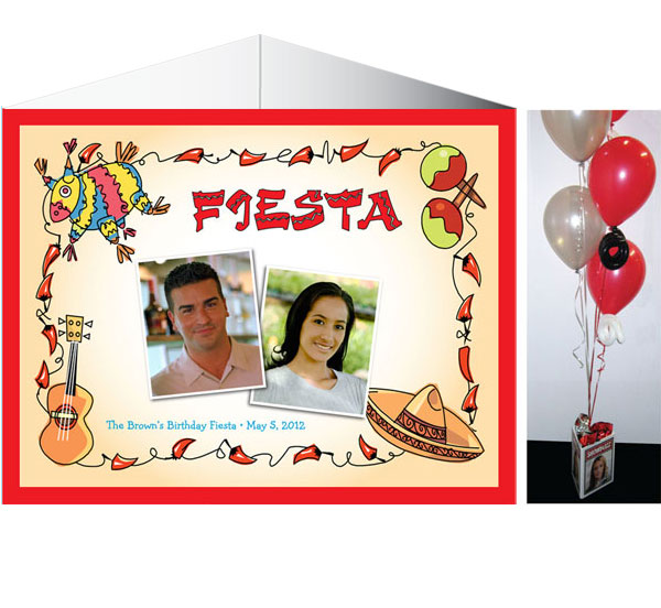 A Fiesta Theme Party Centerpiece / A perfect fiesta centerpiece