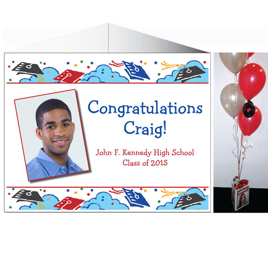 Graduation Picture Theme Centerpiece
