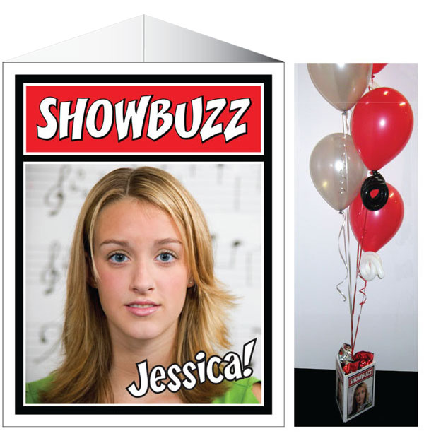 Broadway Showbuzz Theme Centerpiece / Add to your party tables with this theme centerpiece