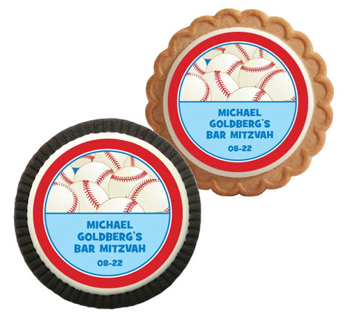 Baseball All Star Theme Custom Cookie