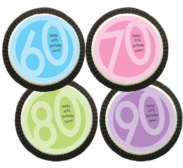 Birthday Age Theme Cookie