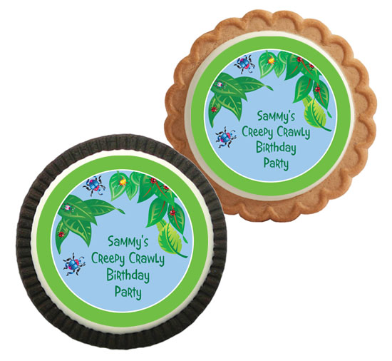 Wriggly Bugs Theme Cookie