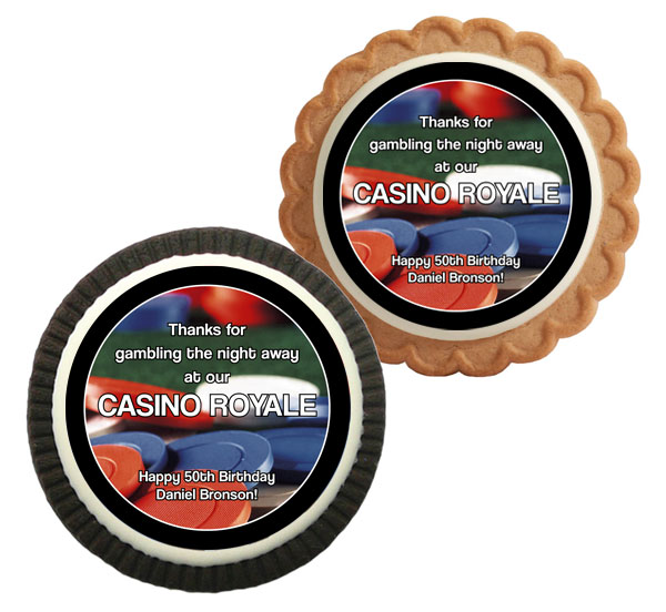 Casino Chips Theme Cookie