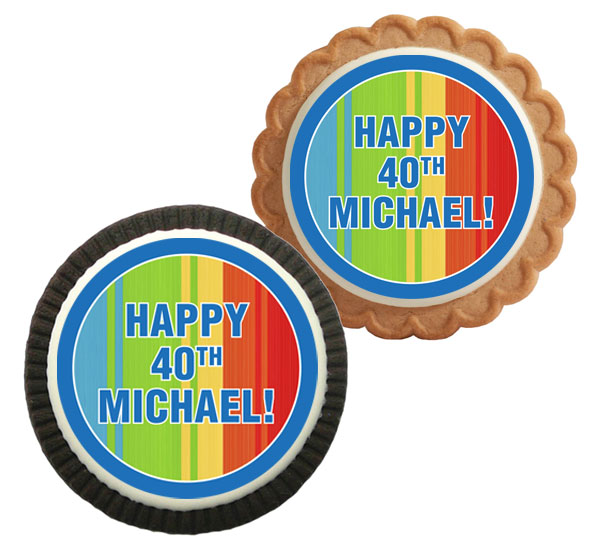 Birthday Celebrate Theme Custom Cookie