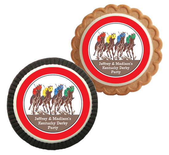 Kentucky Derby Party Theme Cookie