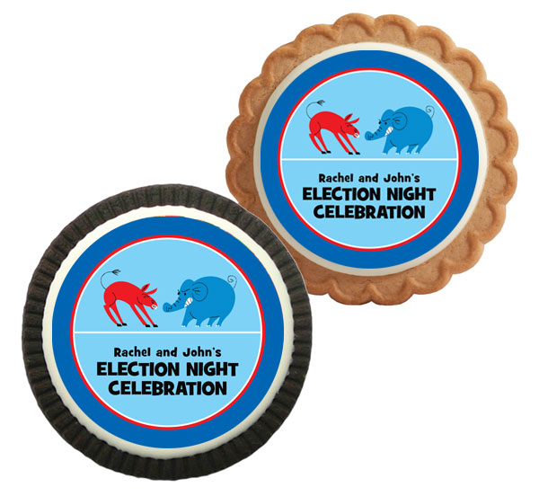 Patriotic Election Theme Cookie