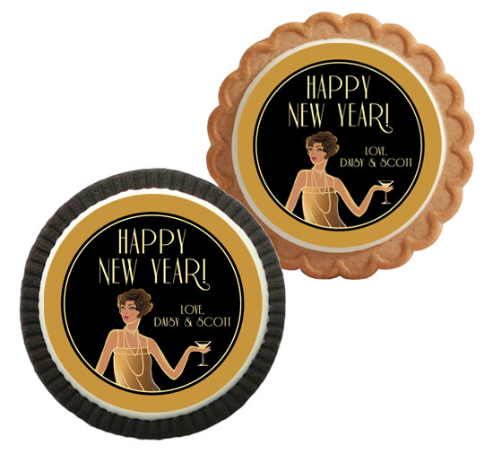 Roaring 20s Theme Custom Cookie