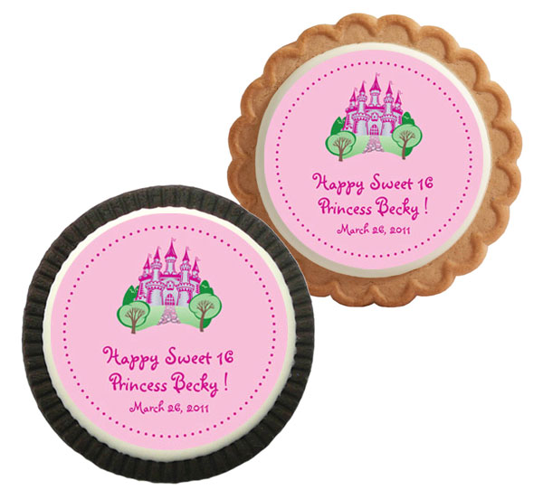 Fairy Tale Princess Theme Custom Cookie