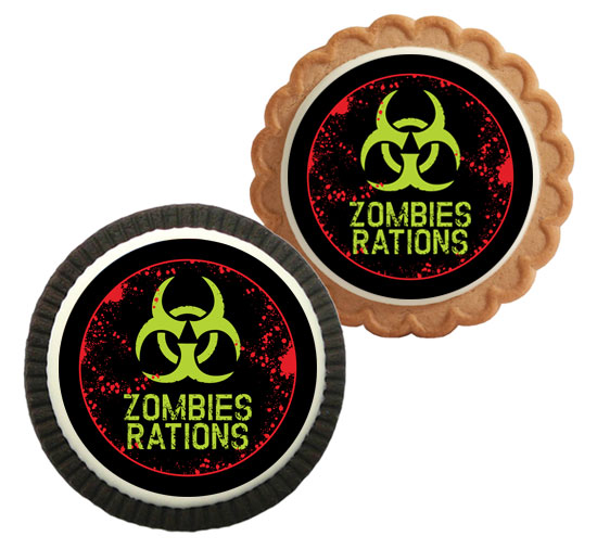 Zombie Theme Custom Cookie / A cookie makes any zombie attack better