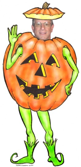 Halloween Cutout, Pumpkin / No goblins or ghosts. Just Halloween fun! Great for kids.