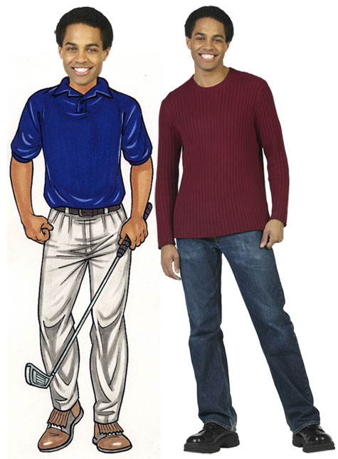 Golfer Male Cutout