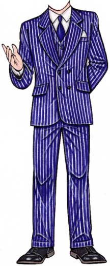 20s Man Cutout / A cutout is perfect for your 20s party!