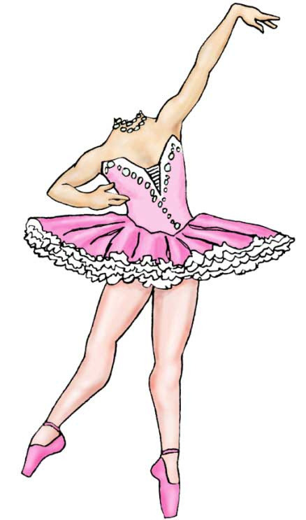 Prima Ballerina Cutout / Perfect for your ballerina!