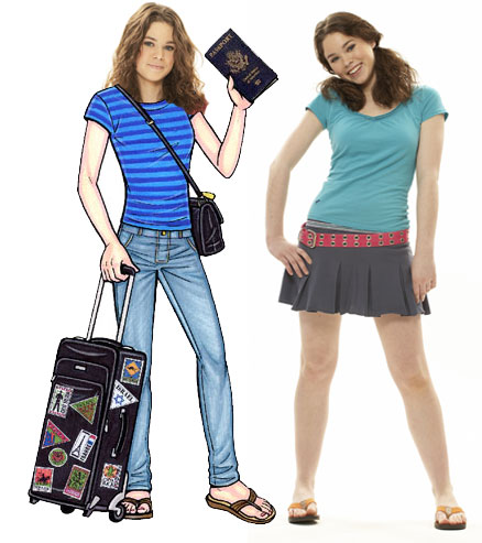 Travel Teen Lifesize Cutout