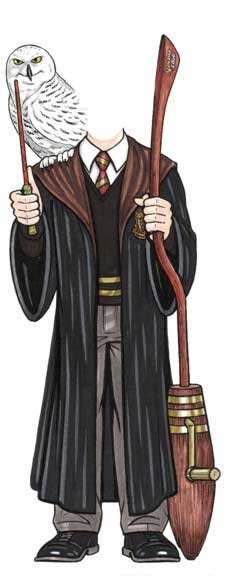 Magic Wizard Cutout